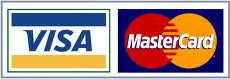 We accept Mastercard and VISA as payment for your campsite.